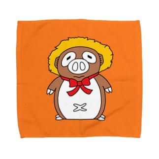 BUTANUKI(全身&ハンカチ版) Towel handkerchiefs