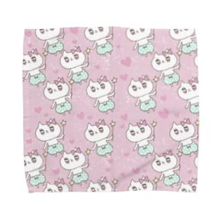 ラブリィにゃんこ♡魔法つかい♡ Towel handkerchiefs