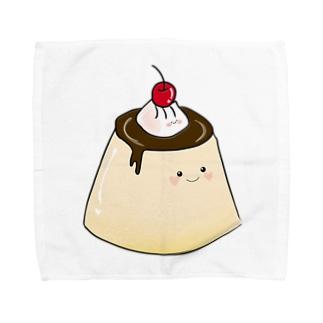 ぷりん餃子 Towel handkerchiefs