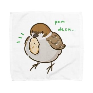 ◆だしのや◆のスズメのおくりもの Towel handkerchiefs