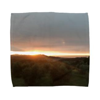 夜明け1 Towel handkerchiefs