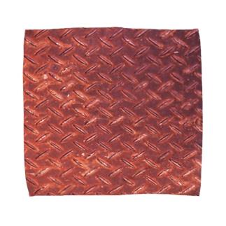 サビサビ鉄板 Towel handkerchiefs