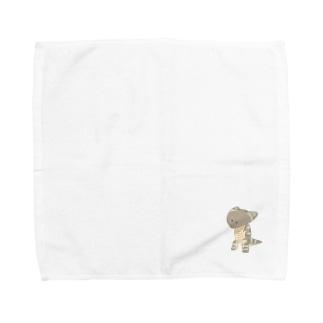 ディプロカウルスのハンカチだよ。 Towel handkerchiefs