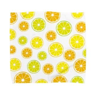 オレンジ&レモン&ライム  Towel handkerchiefs