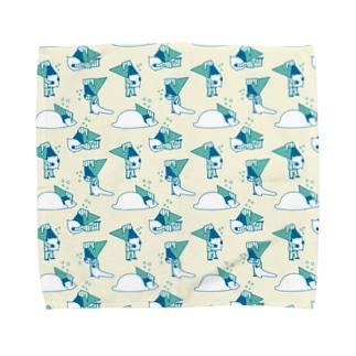ねむダフ Towel handkerchiefs