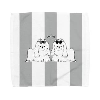 twins Towel handkerchiefs