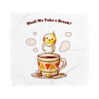 ひとやすみ、しませんか? Towel handkerchiefs