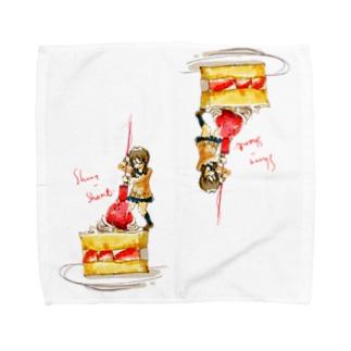 利食いハンカチ Towel handkerchiefs