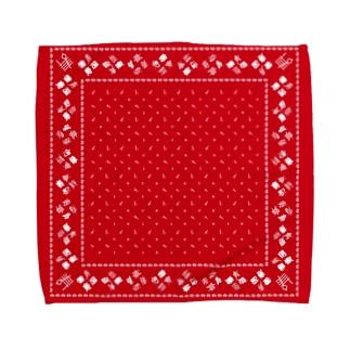 寿 Towel handkerchiefs