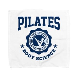ピラティス PILATES A light Towel handkerchiefs