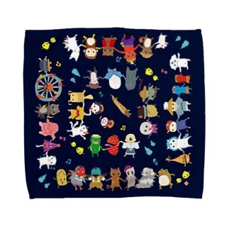 おばけハンカチ<妖怪ラインダンス> Towel handkerchiefs