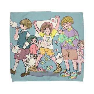 頑張れ日本 Towel handkerchiefs