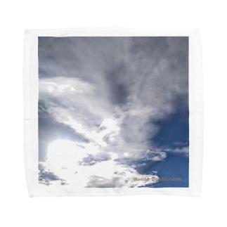 はばたき Towel handkerchiefs