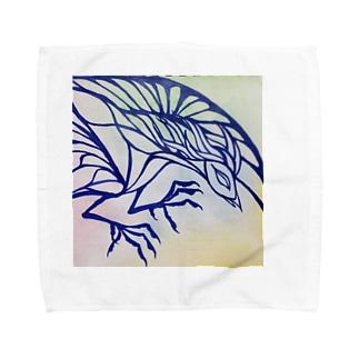 🕊️烏 Towel handkerchiefs