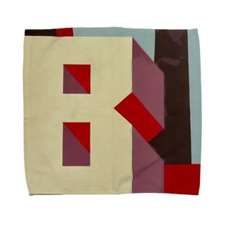 Shadow Type - Industrial B  Towel handkerchiefs