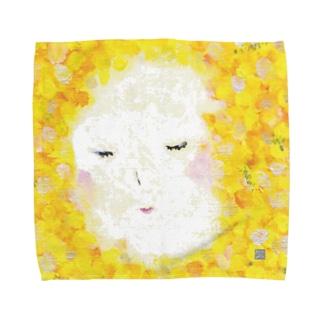 mimosa Towel handkerchiefs