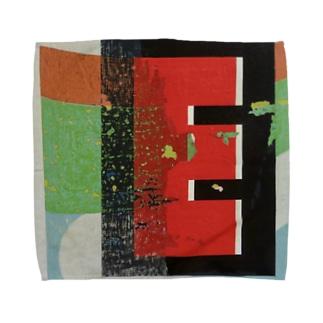 Eroded 'E' Towel handkerchiefs