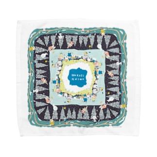 スコホ雪山 Towel handkerchiefs