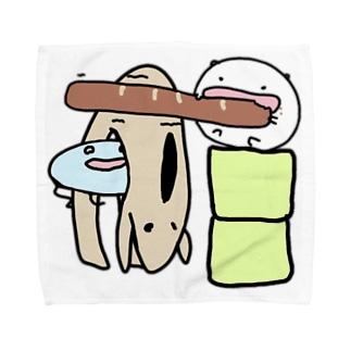 パンはパンでもリンボーダンスも出来るフランスパンはパーンだ!!! Towel handkerchiefs