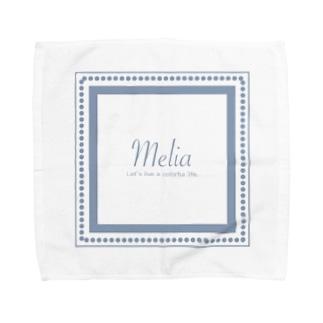 melia box Art goods. Towel handkerchiefs