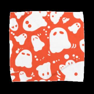 どっかで。のおばけーズ Towel handkerchiefs