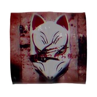 狐面 Towel handkerchiefs