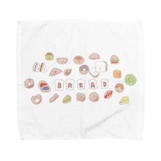 なかよしパン屋さん Towel handkerchiefs