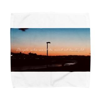 黄昏時 Towel handkerchiefs