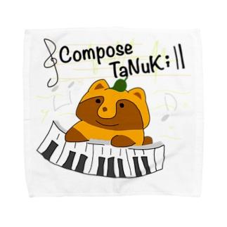 Compose TaNuKi Towel handkerchiefs
