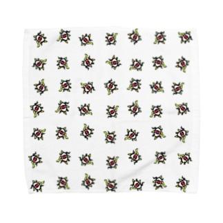Dancing third eye 3 Towel handkerchiefs