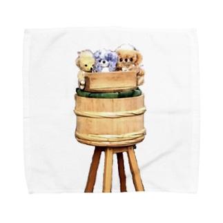 飯寿司チーキー Towel handkerchiefs