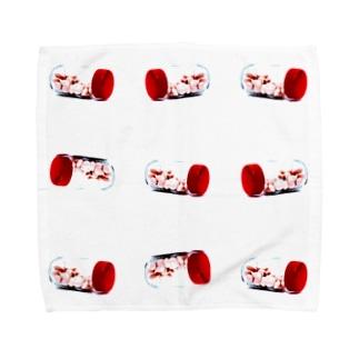おくすり Towel handkerchiefs