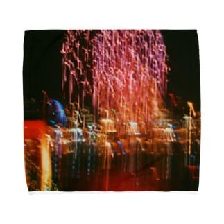 お台場の絶景 Towel handkerchiefs