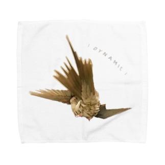 ダイナミックオカメ Towel handkerchiefs
