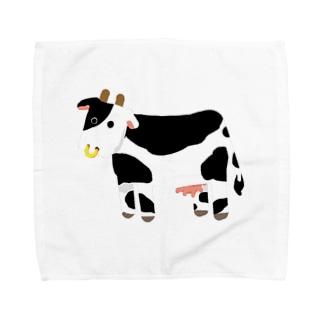ロットモーントの丑年2020 Towel handkerchiefs
