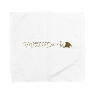 ナイスカレー!(カタカナ) Towel handkerchiefs