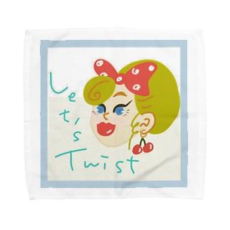 Let's Twist Towel Handkerchief