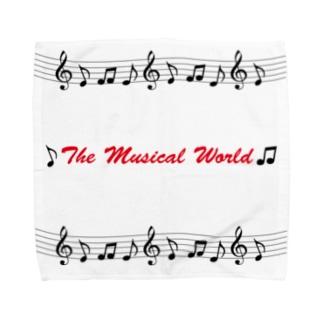 おんぷの世界-The Musical World- Towel handkerchiefs