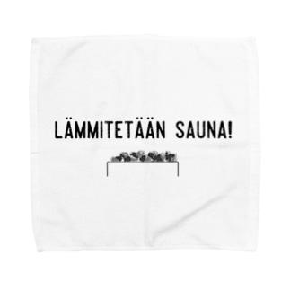 らんみてたーん! (Let's heat up the sauna!) Towel handkerchiefs