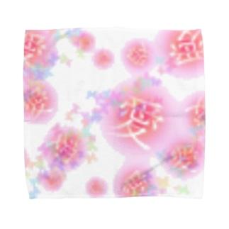 愛のハンカチ 明星デザイン Towel handkerchiefs