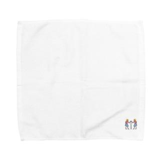 ヒエログリフ『セル』 Towel handkerchiefs