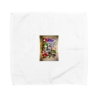花🌼の妖精さん Towel handkerchiefs