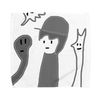 モノクロ!オブ!デストロイ! Towel handkerchiefs
