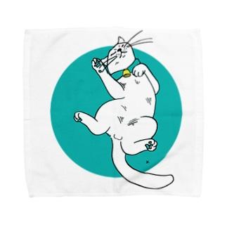 ねこのカイ 2 Towel handkerchiefs