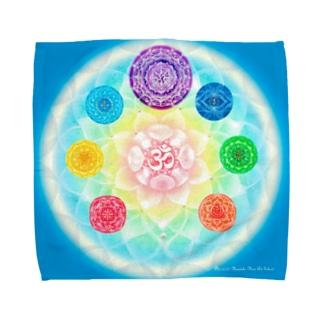 チャクラマンダラ Towel handkerchiefs