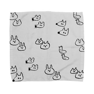 ゆるしゅーる王国 Towel handkerchiefs