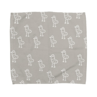 トリさん Towel handkerchiefs