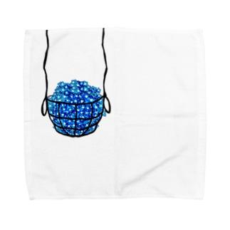 ネモフィラ* Towel handkerchiefs