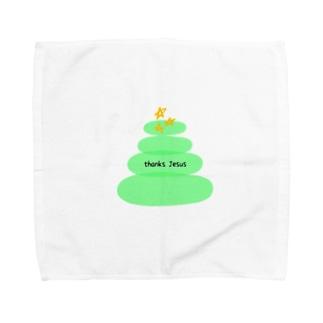 クリスマスグッズ Towel handkerchiefs