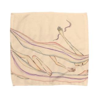 人肌恋しい Towel handkerchiefs